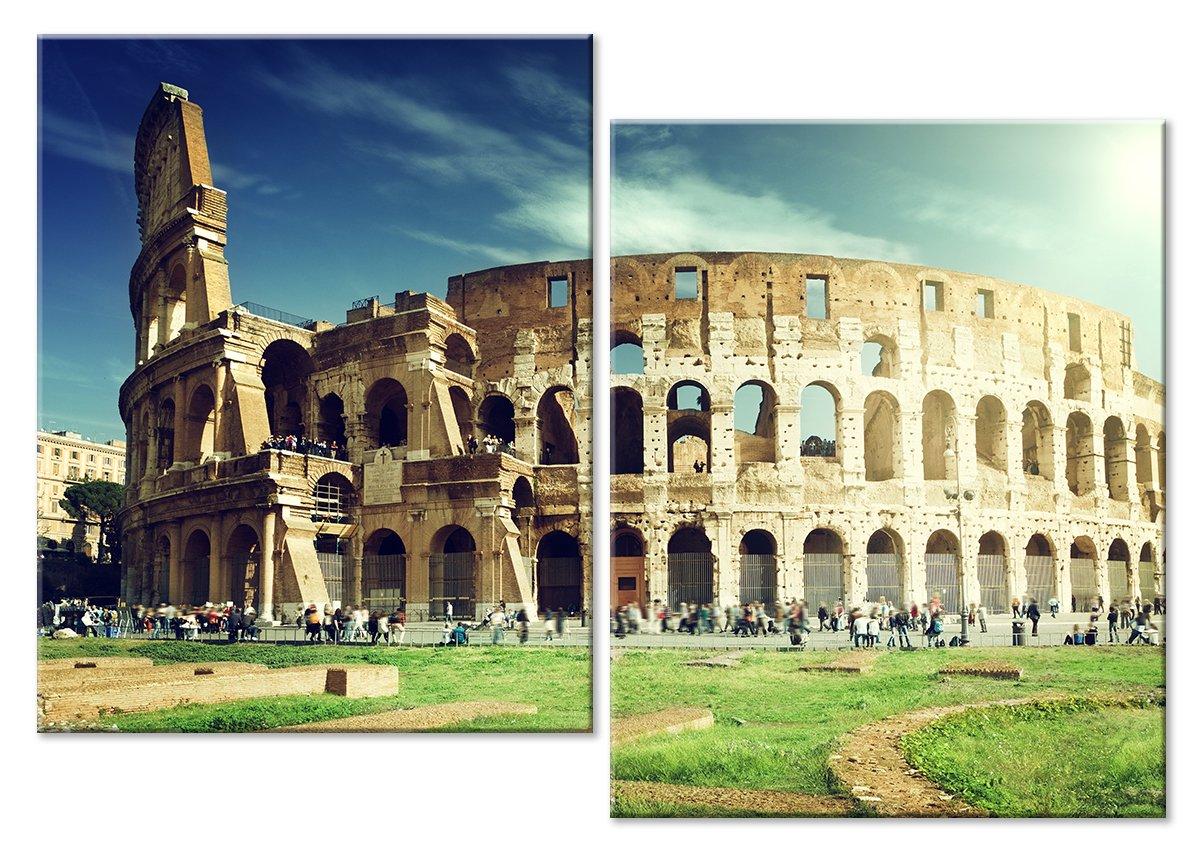 Модульная картина «Рим. Колизей»Города<br>Модульная картина на натуральном холсте и деревянном подрамнике. Подвес в комплекте. Трехслойная надежная упаковка. Доставим в любую точку России. Вам осталось только повесить картину на стену!<br>
