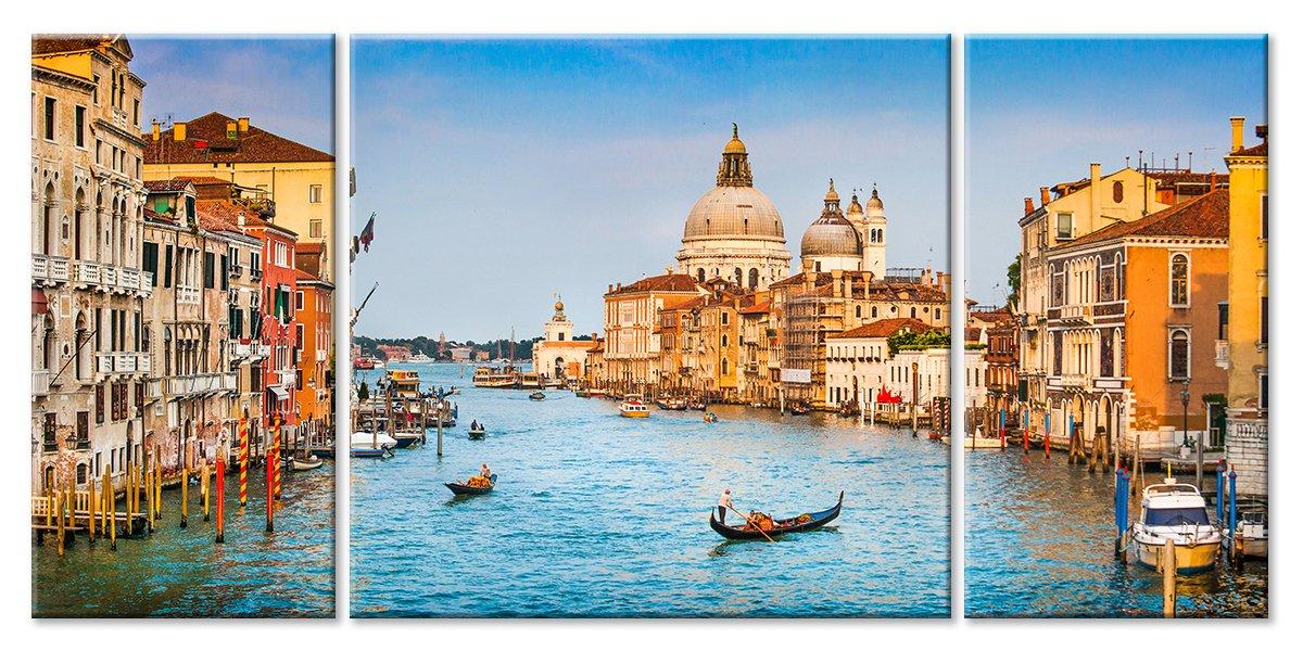 Модульная картина «Венеция»Города<br>Модульная картина на натуральном холсте и деревянном подрамнике. Подвес в комплекте. Трехслойная надежная упаковка. Доставим в любую точку России. Вам осталось только повесить картину на стену!<br>