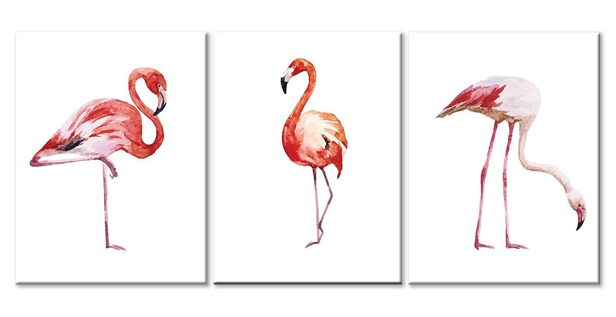 Модульная картина «Зарисовки фламинго»Животные и птицы<br>Модульная картина на натуральном холсте и деревянном подрамнике. Подвес в комплекте. Трехслойная надежная упаковка. Доставим в любую точку России. Вам осталось только повесить картину на стену!<br>