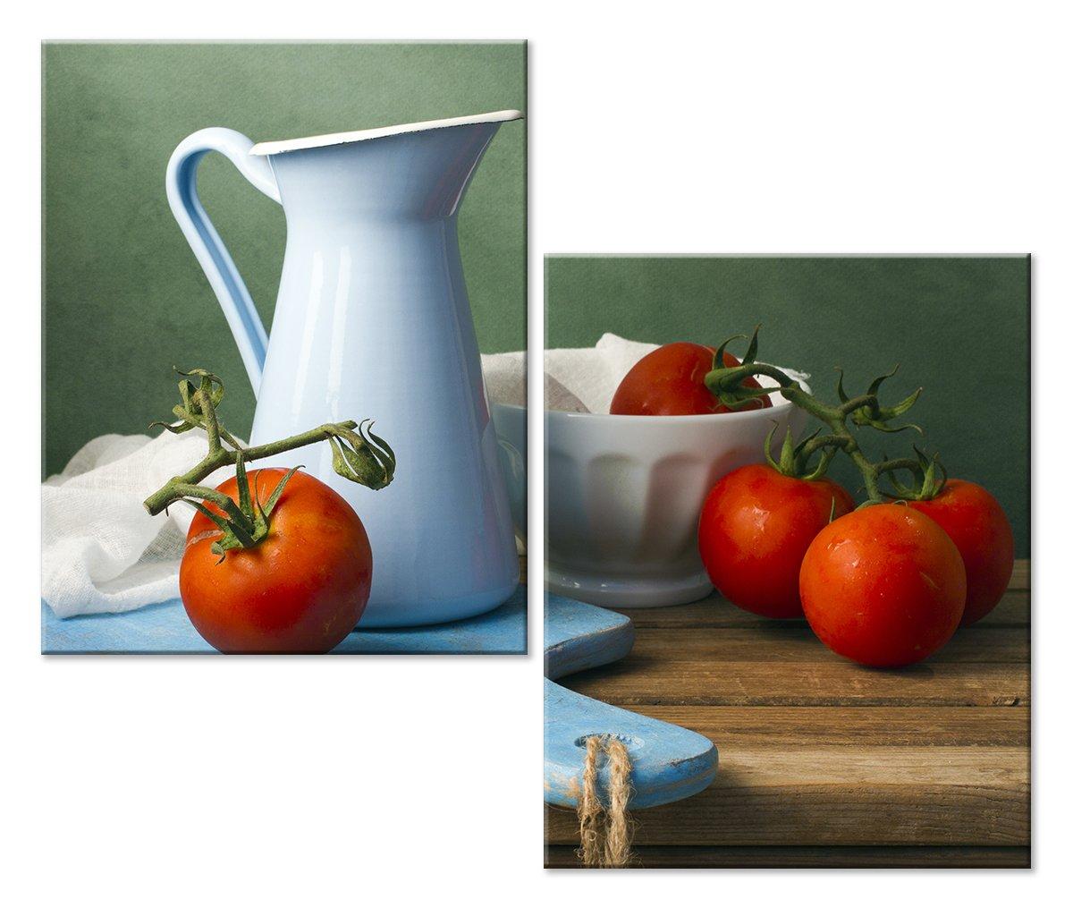Модульная картина «Натюрморт с томатами»Натюрморт<br>Модульная картина на натуральном холсте и деревянном подрамнике. Подвес в комплекте. Трехслойная надежная упаковка. Доставим в любую точку России. Вам осталось только повесить картину на стену!<br>
