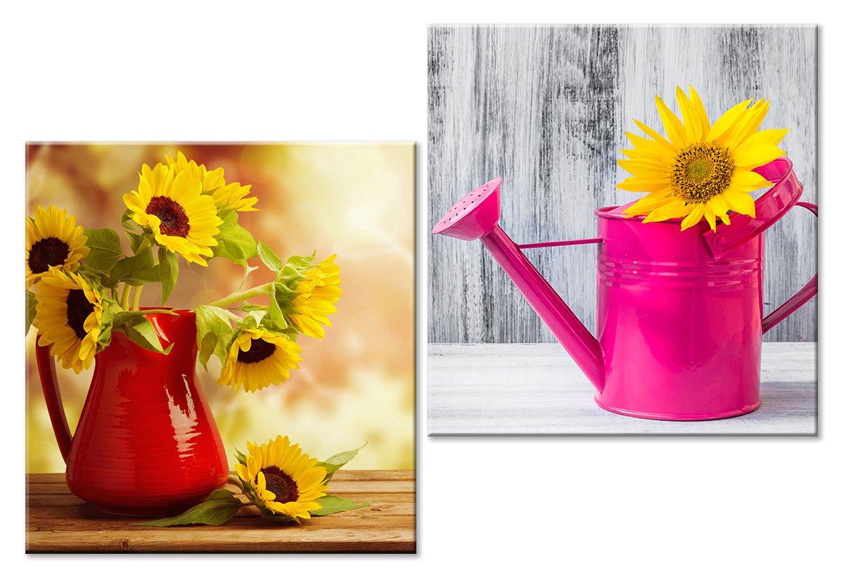 Модульная картина «Желтые цветы»Цветы<br>Модульная картина на натуральном холсте и деревянном подрамнике. Подвес в комплекте. Трехслойная надежная упаковка. Доставим в любую точку России. Вам осталось только повесить картину на стену!<br>