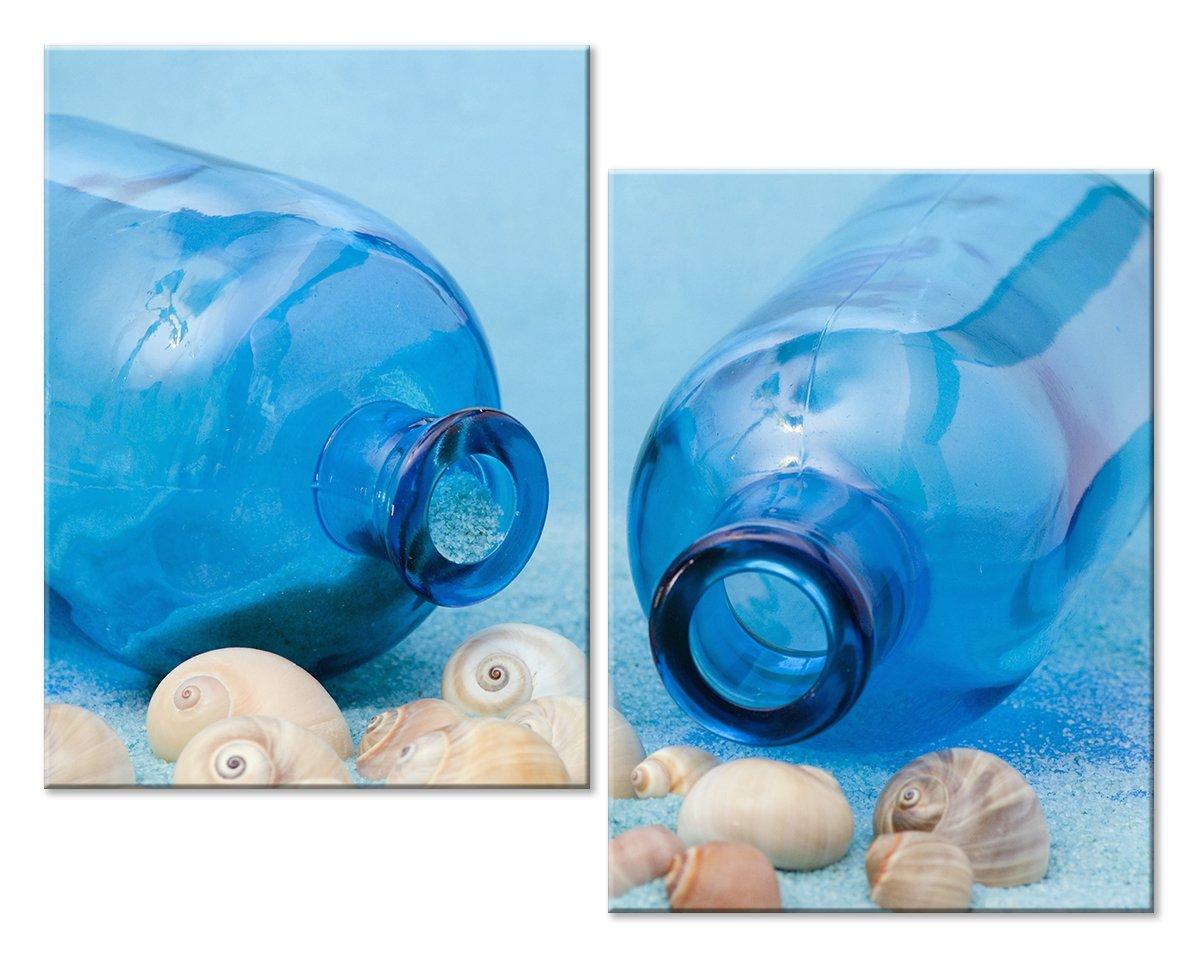 Модульная картина «Голубая композиция»Море<br>Модульная картина на натуральном холсте и деревянном подрамнике. Подвес в комплекте. Трехслойная надежная упаковка. Доставим в любую точку России. Вам осталось только повесить картину на стену!<br>