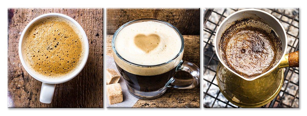 Модульная картина «Любовь к кофе»Натюрморт<br>Модульная картина на натуральном холсте и деревянном подрамнике. Подвес в комплекте. Трехслойная надежная упаковка. Доставим в любую точку России. Вам осталось только повесить картину на стену!<br>