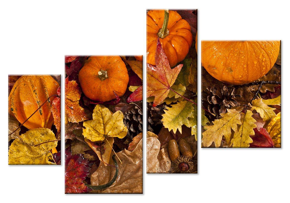 Модульная картина «Осенняя композиция»Натюрморт<br>Модульная картина на натуральном холсте и деревянном подрамнике. Подвес в комплекте. Трехслойная надежная упаковка. Доставим в любую точку России. Вам осталось только повесить картину на стену!<br>