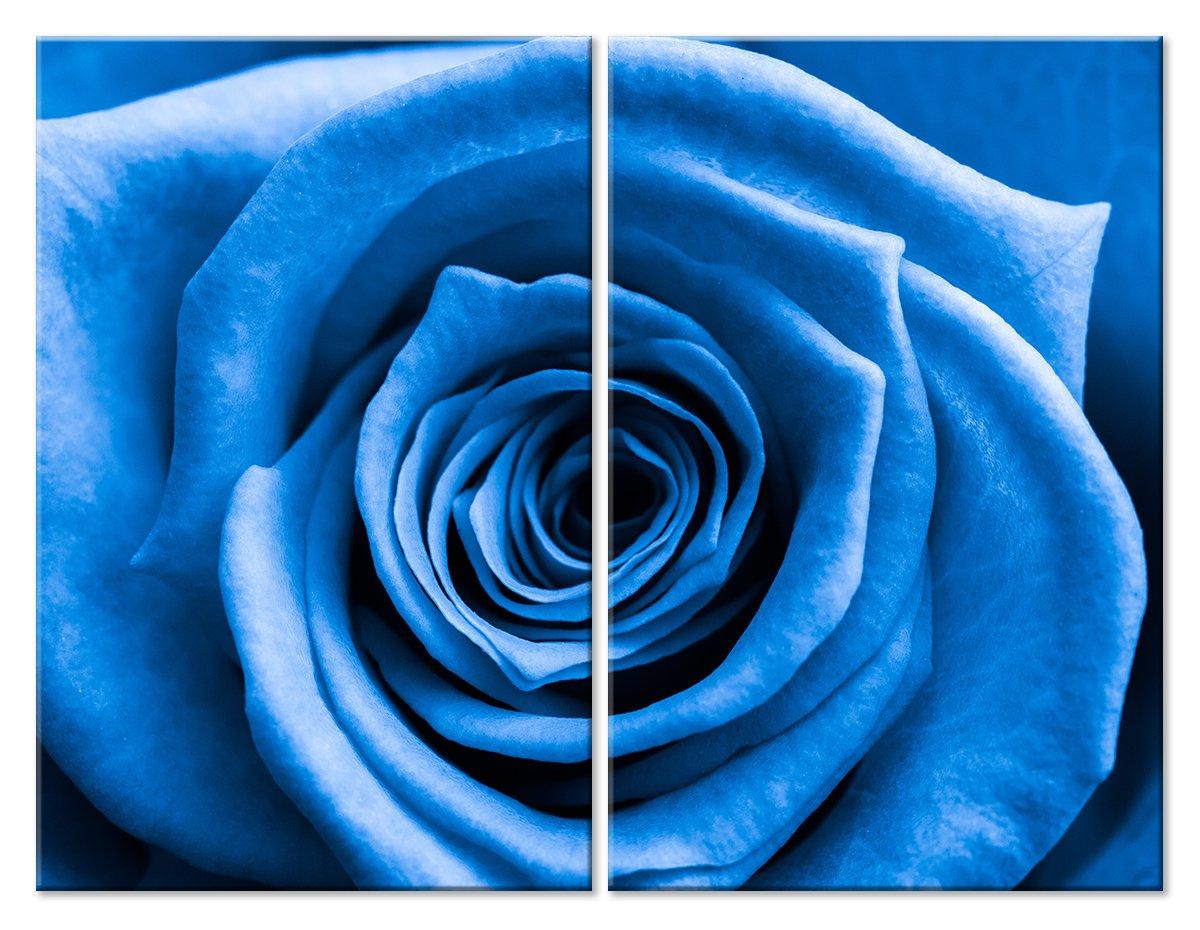 Модульная картина «Синяя роза»Цветы<br>Модульная картина на натуральном холсте и деревянном подрамнике. Подвес в комплекте. Трехслойная надежная упаковка. Доставим в любую точку России. Вам осталось только повесить картину на стену!<br>