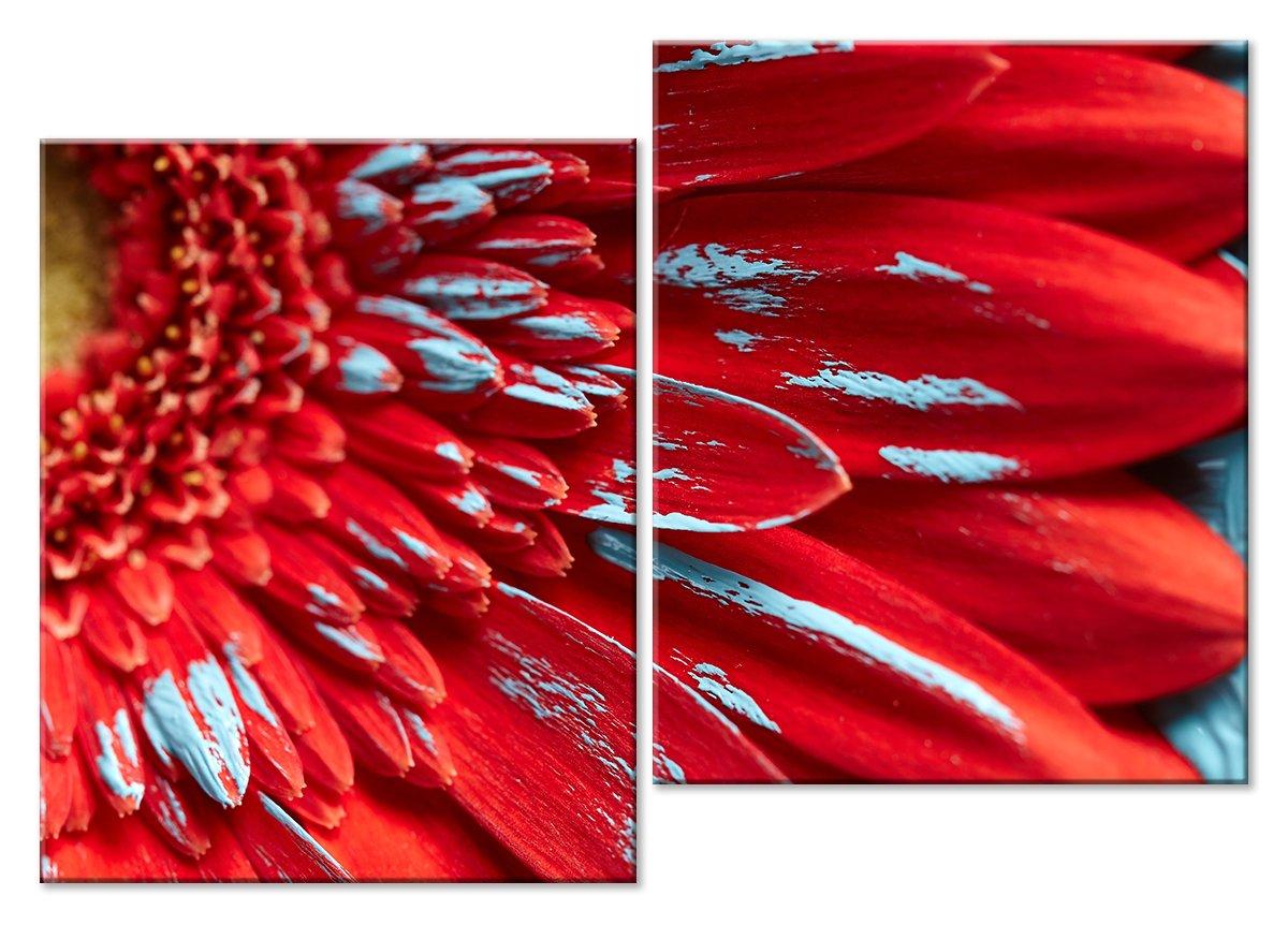 Модульная картина «Краски»Цветы<br>Модульная картина на натуральном холсте и деревянном подрамнике. Подвес в комплекте. Трехслойная надежная упаковка. Доставим в любую точку России. Вам осталось только повесить картину на стену!<br>