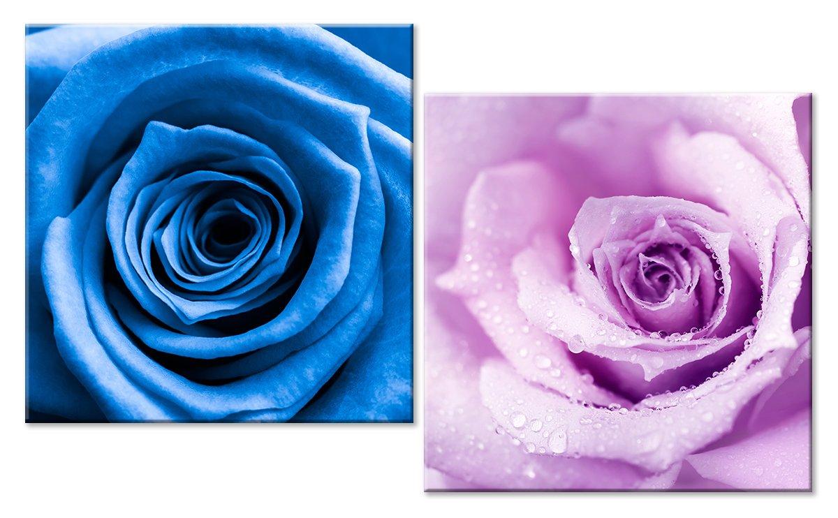 Модульная картина «На контрасте цвета»Цветы<br>Модульная картина на натуральном холсте и деревянном подрамнике. Подвес в комплекте. Трехслойная надежная упаковка. Доставим в любую точку России. Вам осталось только повесить картину на стену!<br>
