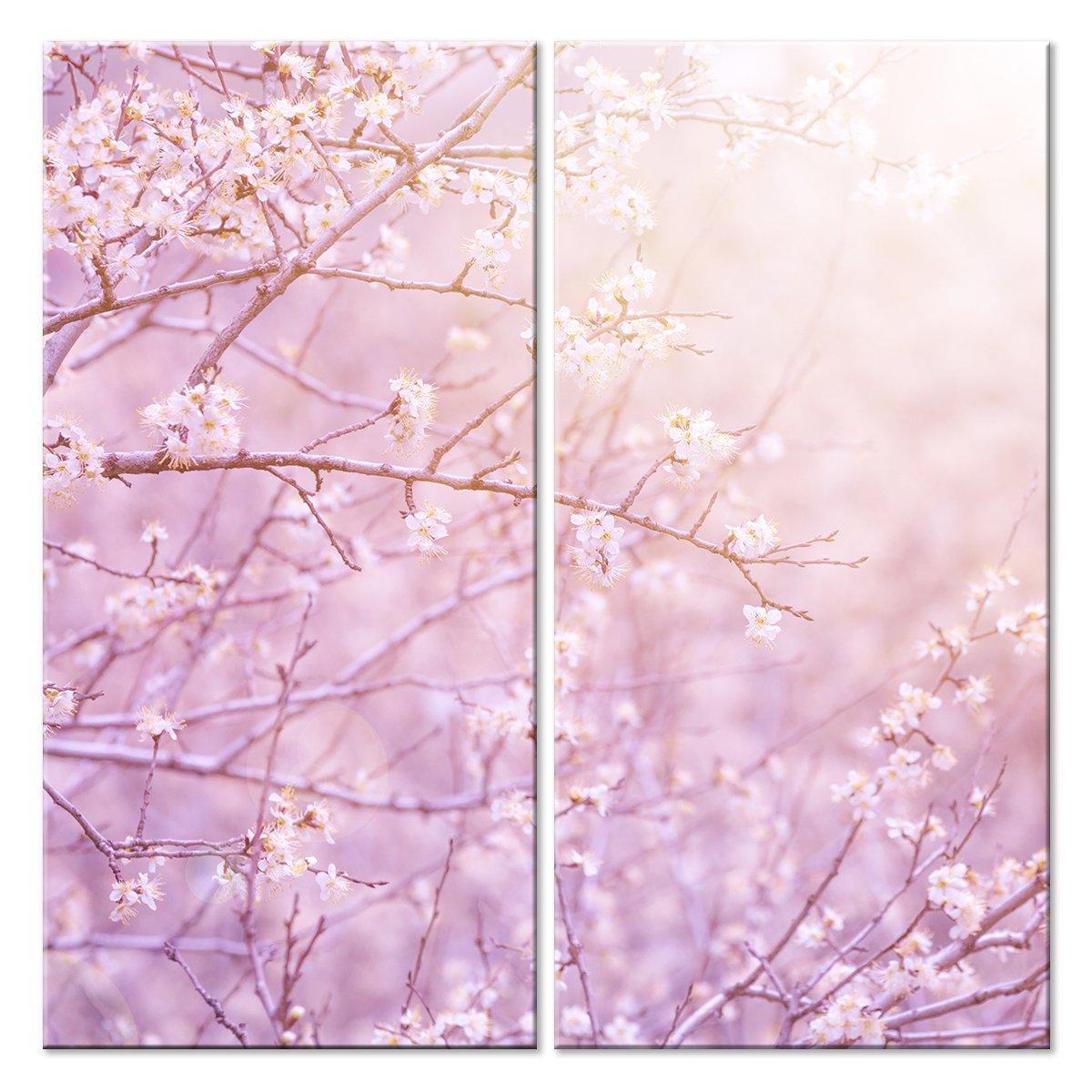 Модульная картина «Солнечное дерево»Цветы<br>Модульная картина на натуральном холсте и деревянном подрамнике. Подвес в комплекте. Трехслойная надежная упаковка. Доставим в любую точку России. Вам осталось только повесить картину на стену!<br>