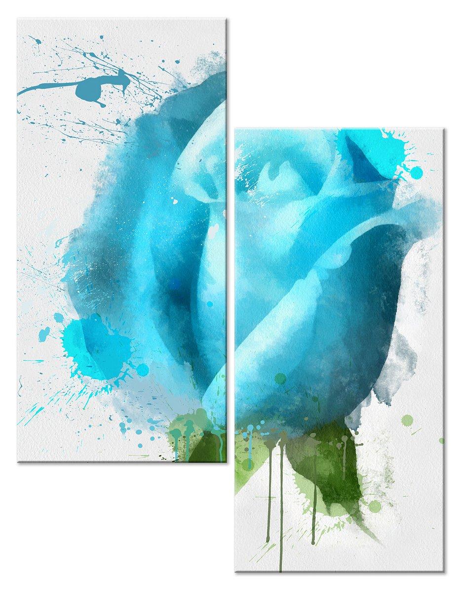Модульная картина «Бутон розы»Цветы<br>Модульная картина на натуральном холсте и деревянном подрамнике. Подвес в комплекте. Трехслойная надежная упаковка. Доставим в любую точку России. Вам осталось только повесить картину на стену!<br>