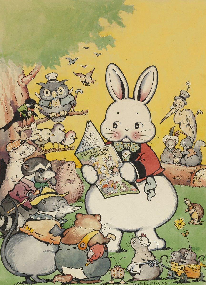 Искусство, картина Кади Хариссон, Кролик Питер и его друзья, 20x28 см, на бумагеСказка в живописи и графике<br>Постер на холсте или бумаге. Любого нужного вам размера. В раме или без. Подвес в комплекте. Трехслойная надежная упаковка. Доставим в любую точку России. Вам осталось только повесить картину на стену!<br>