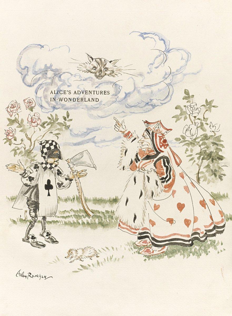 Искусство, картина Рэкхэм Артур, Алиса в стране чудес, 20x27 см, на бумагеСказка в живописи и графике<br>Постер на холсте или бумаге. Любого нужного вам размера. В раме или без. Подвес в комплекте. Трехслойная надежная упаковка. Доставим в любую точку России. Вам осталось только повесить картину на стену!<br>