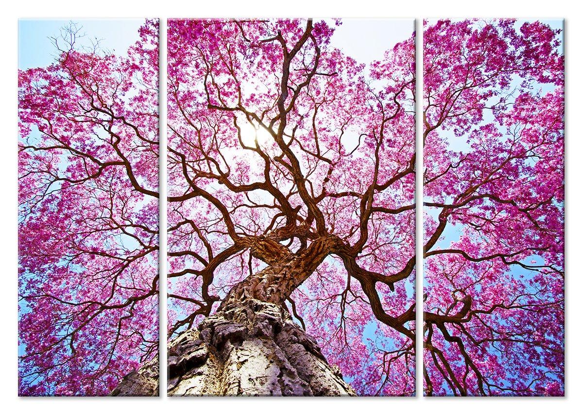 Модульная картина «Цветущее дерево»Природа<br>Модульная картина на натуральном холсте и деревянном подрамнике. Подвес в комплекте. Трехслойная надежная упаковка. Доставим в любую точку России. Вам осталось только повесить картину на стену!<br>
