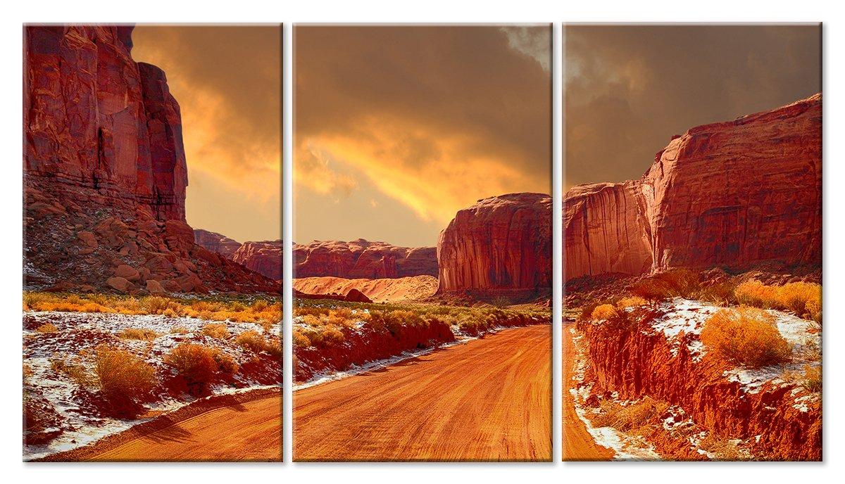 Модульная картина «Песчаный пейзаж»Природа<br>Модульная картина на натуральном холсте и деревянном подрамнике. Подвес в комплекте. Трехслойная надежная упаковка. Доставим в любую точку России. Вам осталось только повесить картину на стену!<br>