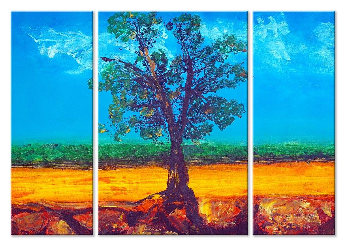 Модульная картина «Дерево»Природа<br>Модульная картина на натуральном холсте и деревянном подрамнике. Подвес в комплекте. Трехслойная надежная упаковка. Доставим в любую точку России. Вам осталось только повесить картину на стену!<br>