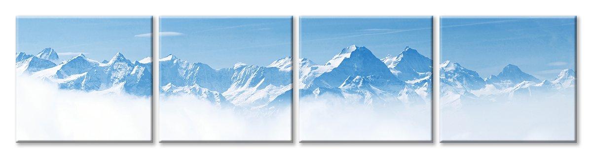 Модульная картина «Горные вершины»Природа<br>Модульная картина на натуральном холсте и деревянном подрамнике. Подвес в комплекте. Трехслойная надежная упаковка. Доставим в любую точку России. Вам осталось только повесить картину на стену!<br>