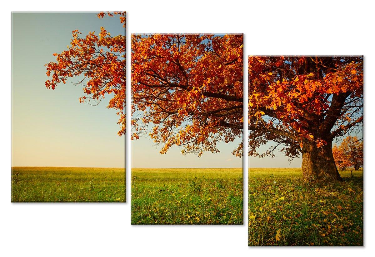 Модульная картина «Осеннее безветрие»Природа<br>Модульная картина на натуральном холсте и деревянном подрамнике. Подвес в комплекте. Трехслойная надежная упаковка. Доставим в любую точку России. Вам осталось только повесить картину на стену!<br>