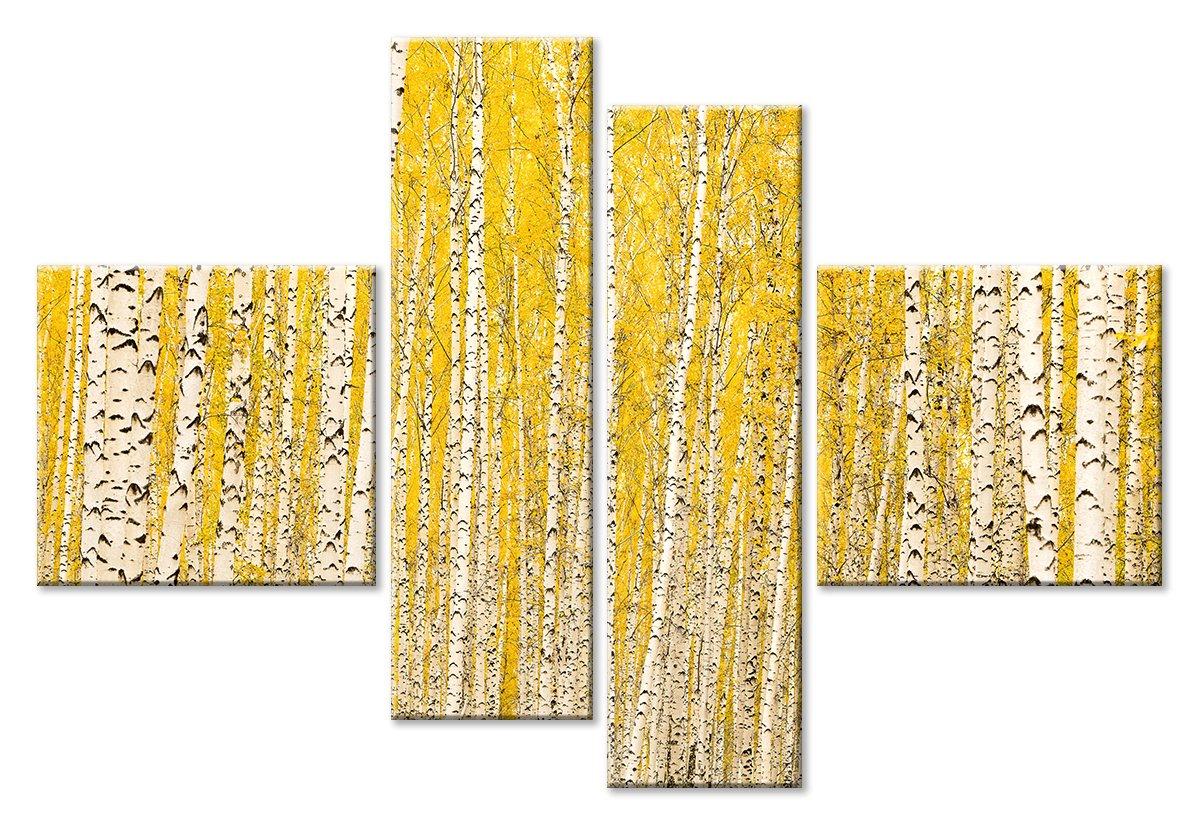 Модульная картина «Березовые узоры»Природа<br>Модульная картина на натуральном холсте и деревянном подрамнике. Подвес в комплекте. Трехслойная надежная упаковка. Доставим в любую точку России. Вам осталось только повесить картину на стену!<br>