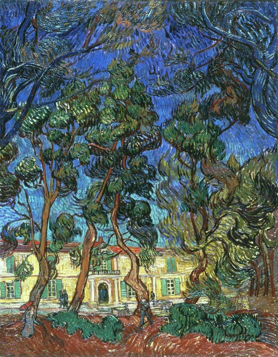 Пленэр, картина Ван Гог Винсент «Деревья»Пленэр<br>Репродукция на холсте или бумаге. Любого нужного вам размера. В раме или без. Подвес в комплекте. Трехслойная надежная упаковка. Доставим в любую точку России. Вам осталось только повесить картину на стену!<br>