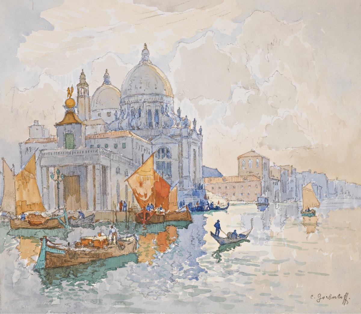 Яркие картины, картина Горбатов Константин «Венеция»Яркие картины<br>Репродукция на холсте или бумаге. Любого нужного вам размера. В раме или без. Подвес в комплекте. Трехслойная надежная упаковка. Доставим в любую точку России. Вам осталось только повесить картину на стену!<br>