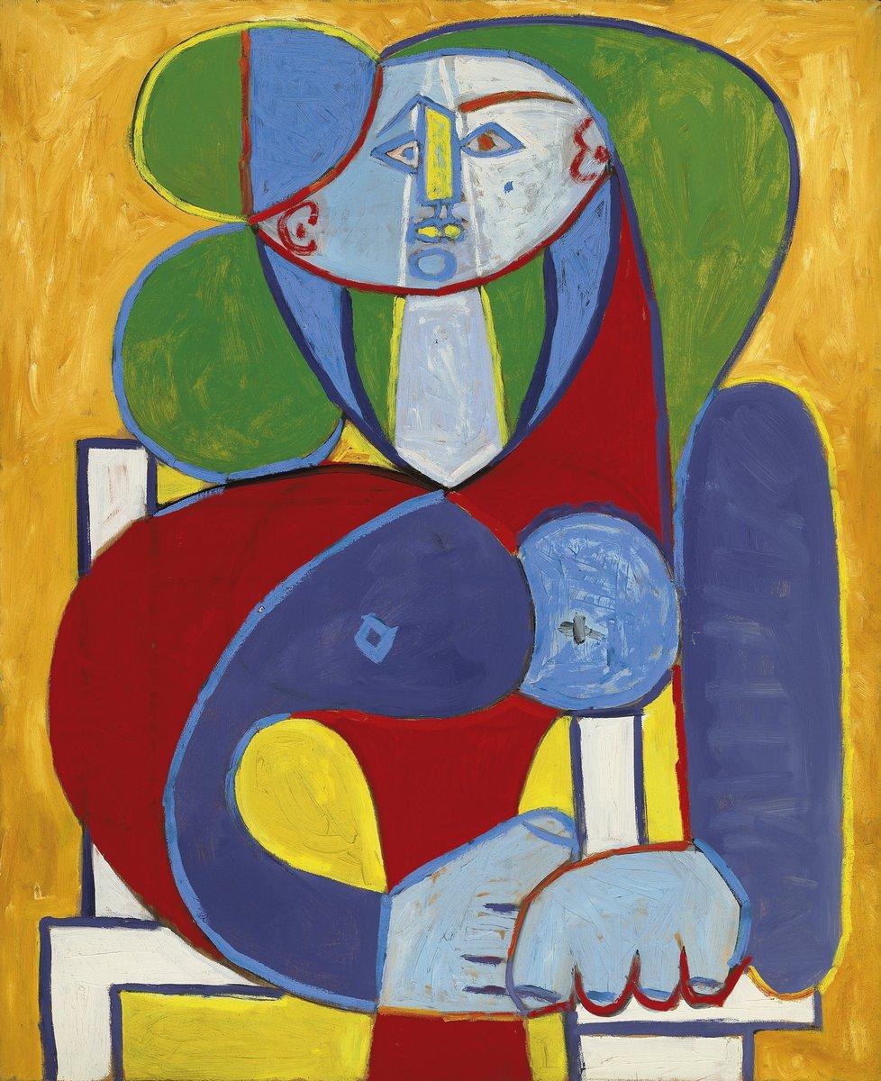 Яркие картины, картина Пикассо Пабло «Бюст Франсуазы»Яркие картины<br>Репродукция на холсте или бумаге. Любого нужного вам размера. В раме или без. Подвес в комплекте. Трехслойная надежная упаковка. Доставим в любую точку России. Вам осталось только повесить картину на стену!<br>