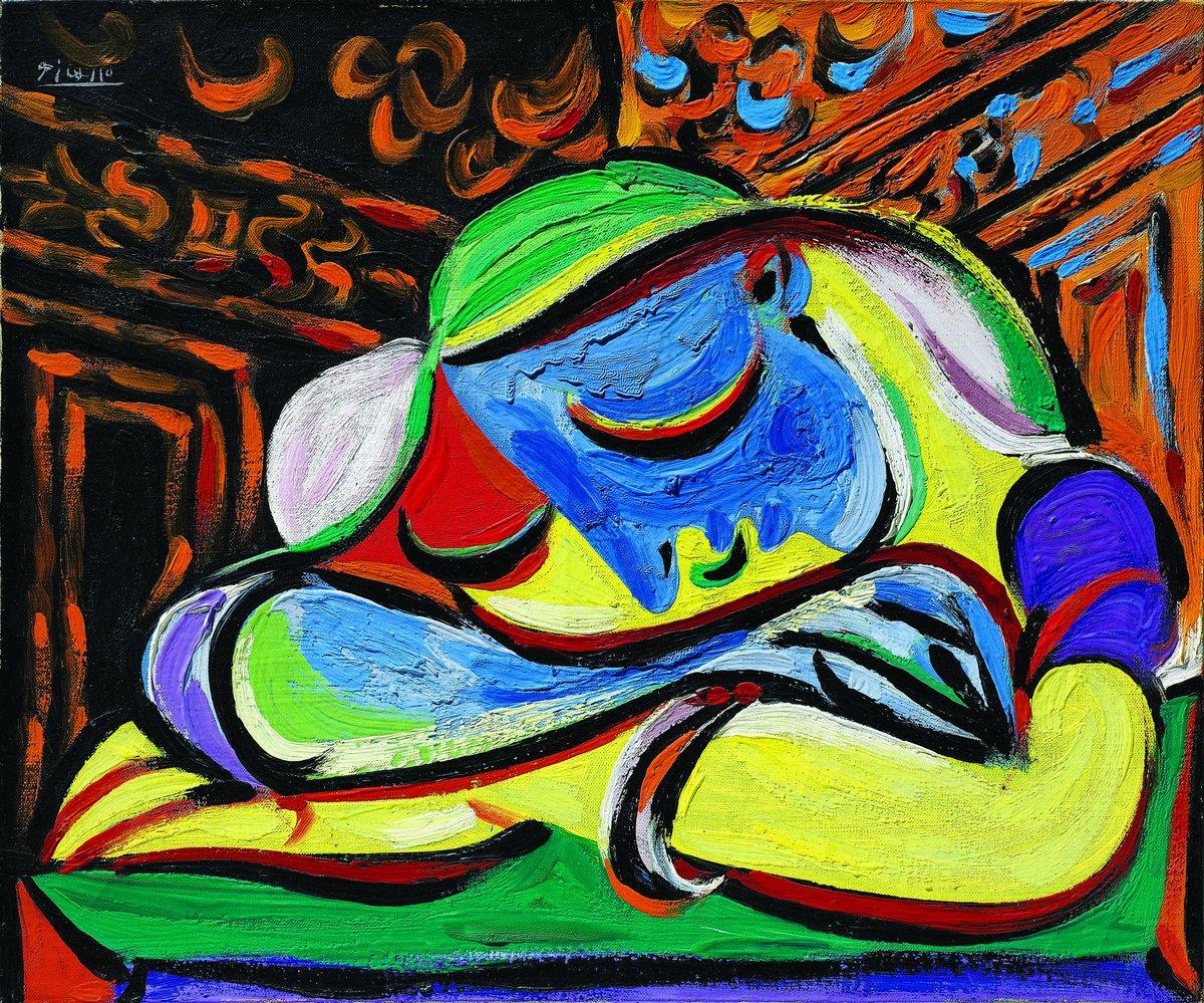 Яркие картины, картина Пикассо Пабло «Спящая молодая женщина»Яркие картины<br>Репродукция на холсте или бумаге. Любого нужного вам размера. В раме или без. Подвес в комплекте. Трехслойная надежная упаковка. Доставим в любую точку России. Вам осталось только повесить картину на стену!<br>