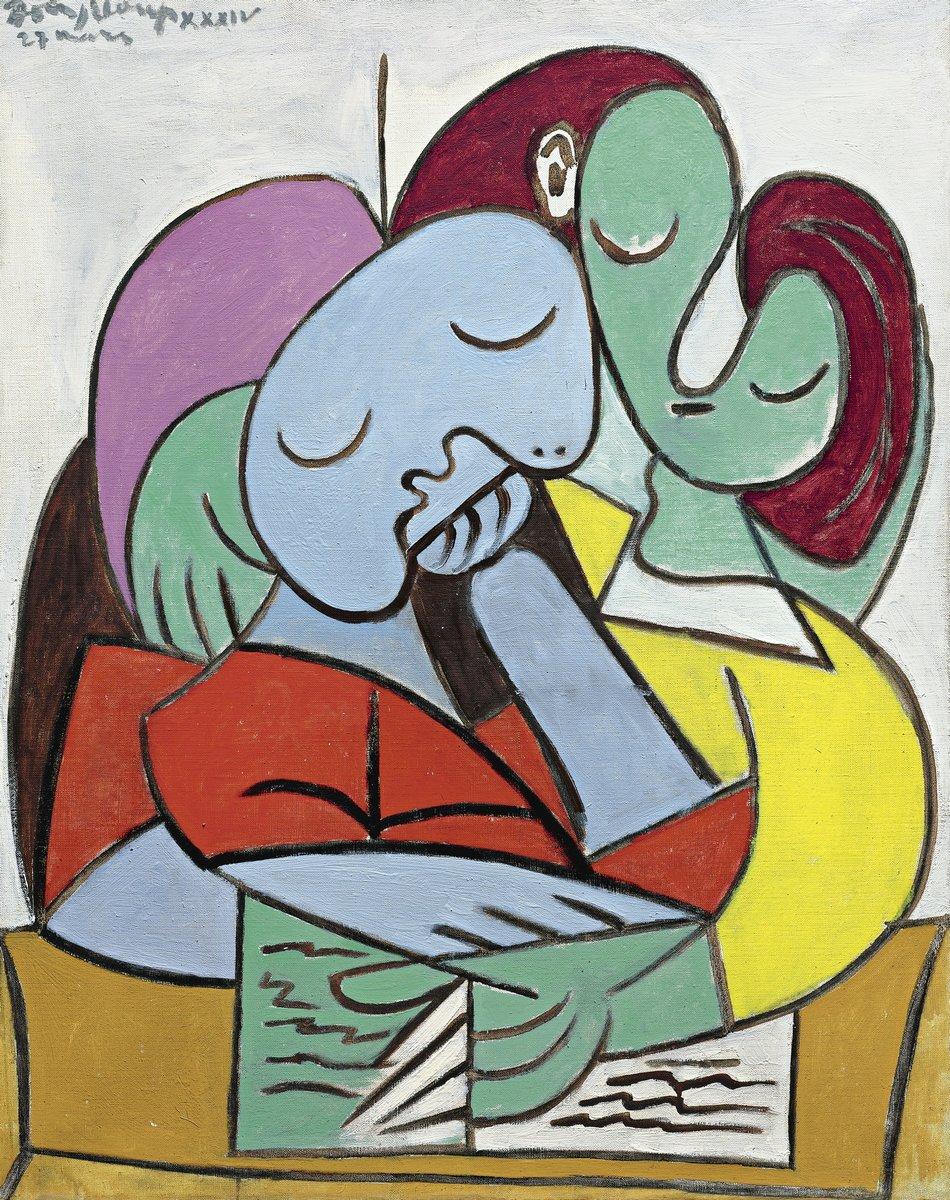 Яркие картины, картина Пикассо Пабло «Читающие женщины»Яркие картины<br>Репродукция на холсте или бумаге. Любого нужного вам размера. В раме или без. Подвес в комплекте. Трехслойная надежная упаковка. Доставим в любую точку России. Вам осталось только повесить картину на стену!<br>