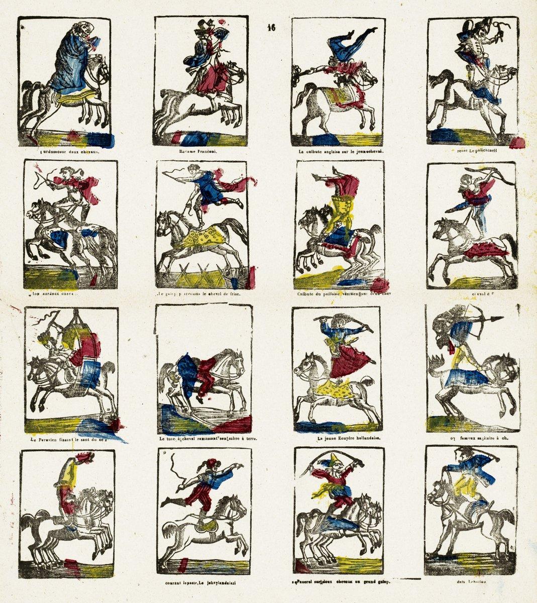 Цирк в живописи и графике, картина Неизвестный художник «Акробаты на лошадях»Цирк в живописи и графике<br>Репродукция на холсте или бумаге. Любого нужного вам размера. В раме или без. Подвес в комплекте. Трехслойная надежная упаковка. Доставим в любую точку России. Вам осталось только повесить картину на стену!<br>