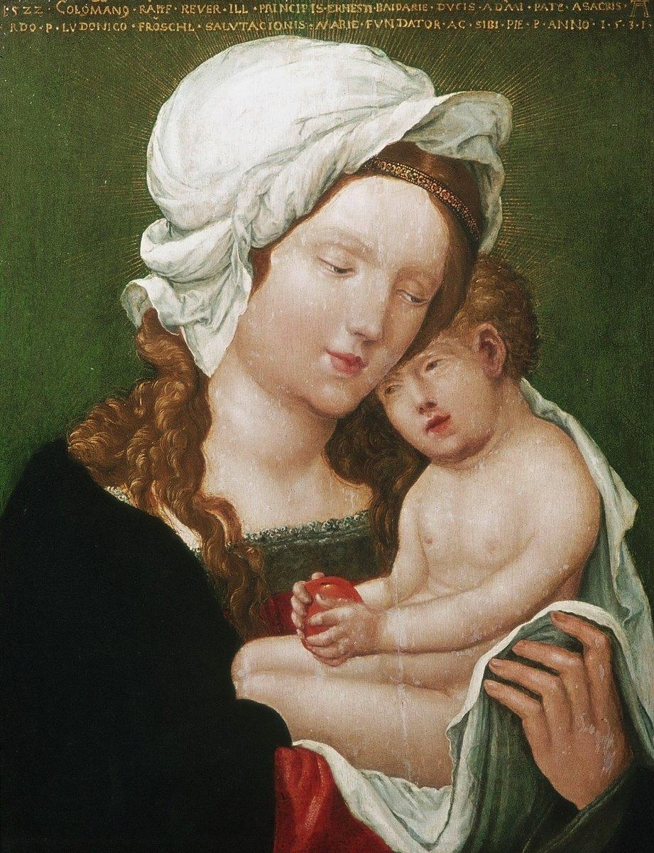 Альтдорфер Альбрехт, картина Мадонна с младенцемАльтдорфер Альбрехт<br>Репродукция на холсте или бумаге. Любого нужного вам размера. В раме или без. Подвес в комплекте. Трехслойная надежная упаковка. Доставим в любую точку России. Вам осталось только повесить картину на стену!<br>
