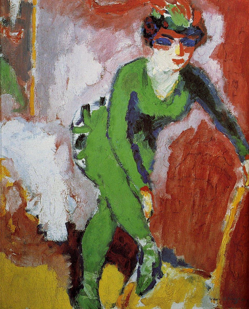 Донген Кес ван, картина Женщина в зеленомДонген Кес ван<br>Репродукция на холсте или бумаге. Любого нужного вам размера. В раме или без. Подвес в комплекте. Трехслойная надежная упаковка. Доставим в любую точку России. Вам осталось только повесить картину на стену!<br>