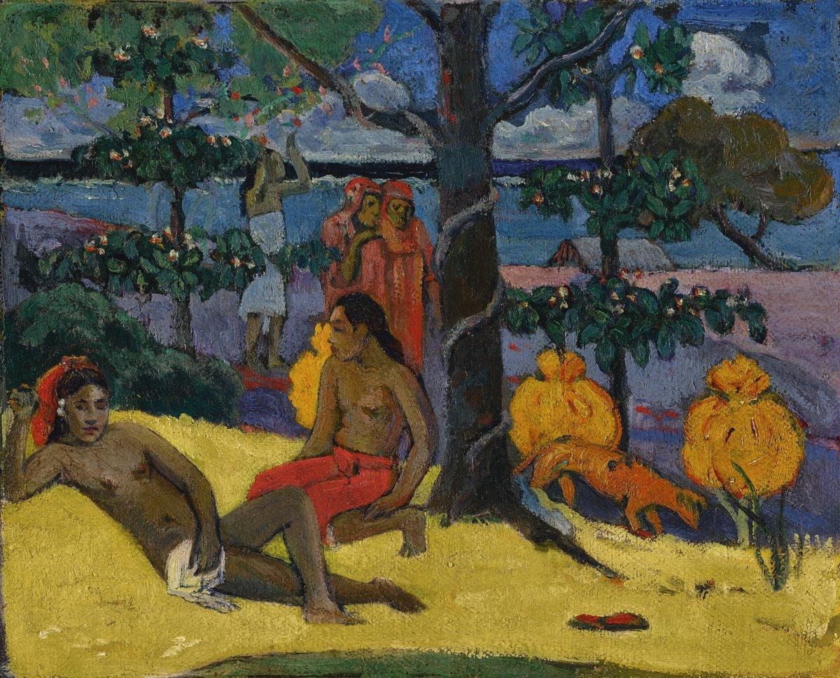 Гоген Поль, картина Женщины под манговым деревомГоген Поль<br>Репродукция на холсте или бумаге. Любого нужного вам размера. В раме или без. Подвес в комплекте. Трехслойная надежная упаковка. Доставим в любую точку России. Вам осталось только повесить картину на стену!<br>