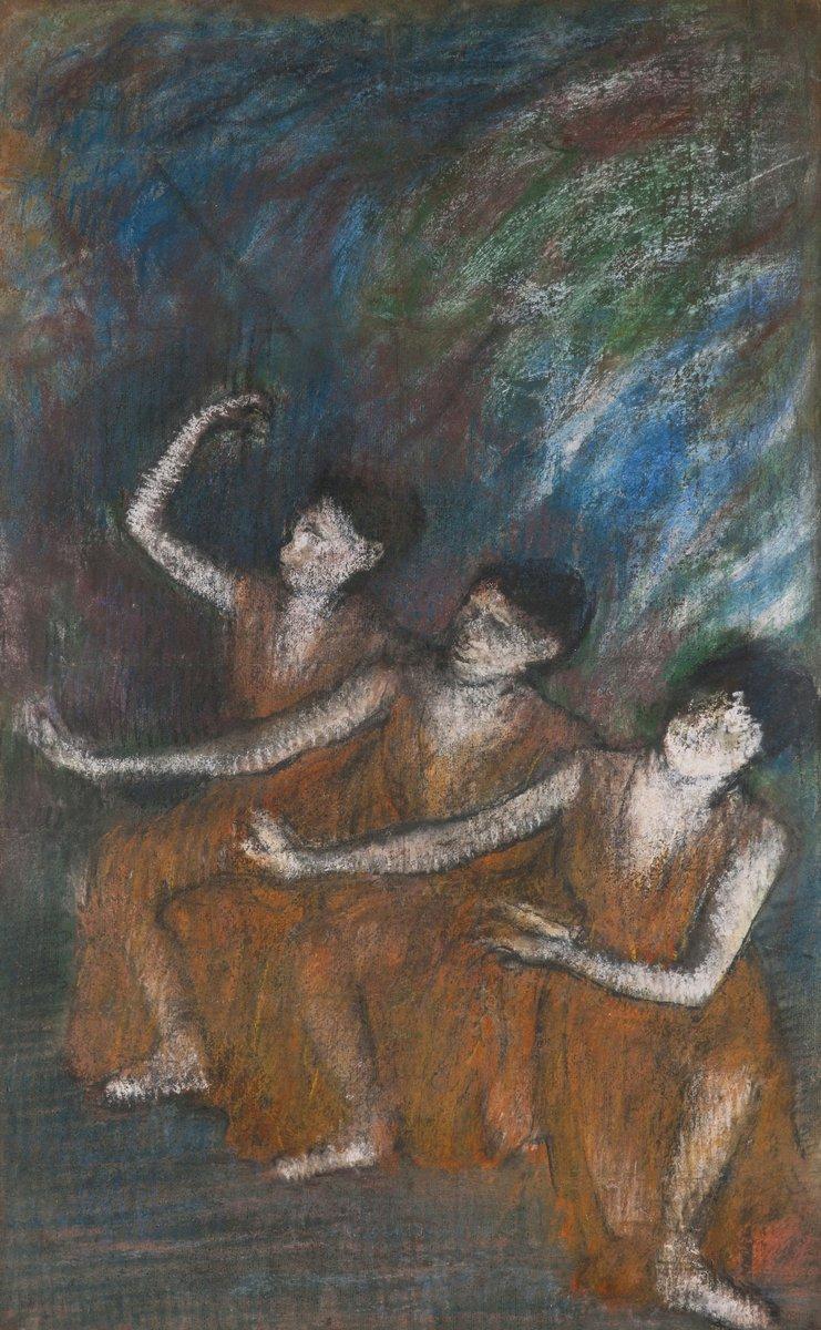 Дега Эдгар, картина Три танцовщицыДега Эдгар<br>Репродукция на холсте или бумаге. Любого нужного вам размера. В раме или без. Подвес в комплекте. Трехслойная надежная упаковка. Доставим в любую точку России. Вам осталось только повесить картину на стену!<br>