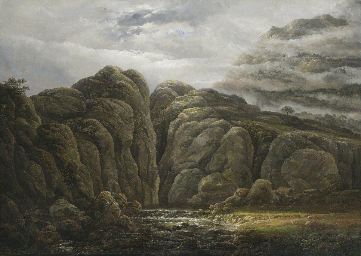 Пейзаж горный и водопады Даль Йохан «Норвежский горный пейзаж»Пейзаж горный и водопады<br>Репродукция на холсте или бумаге. Любого нужного вам размера. В раме или без. Подвес в комплекте. Трехслойная надежная упаковка. Доставим в любую точку России. Вам осталось только повесить картину на стену!<br>