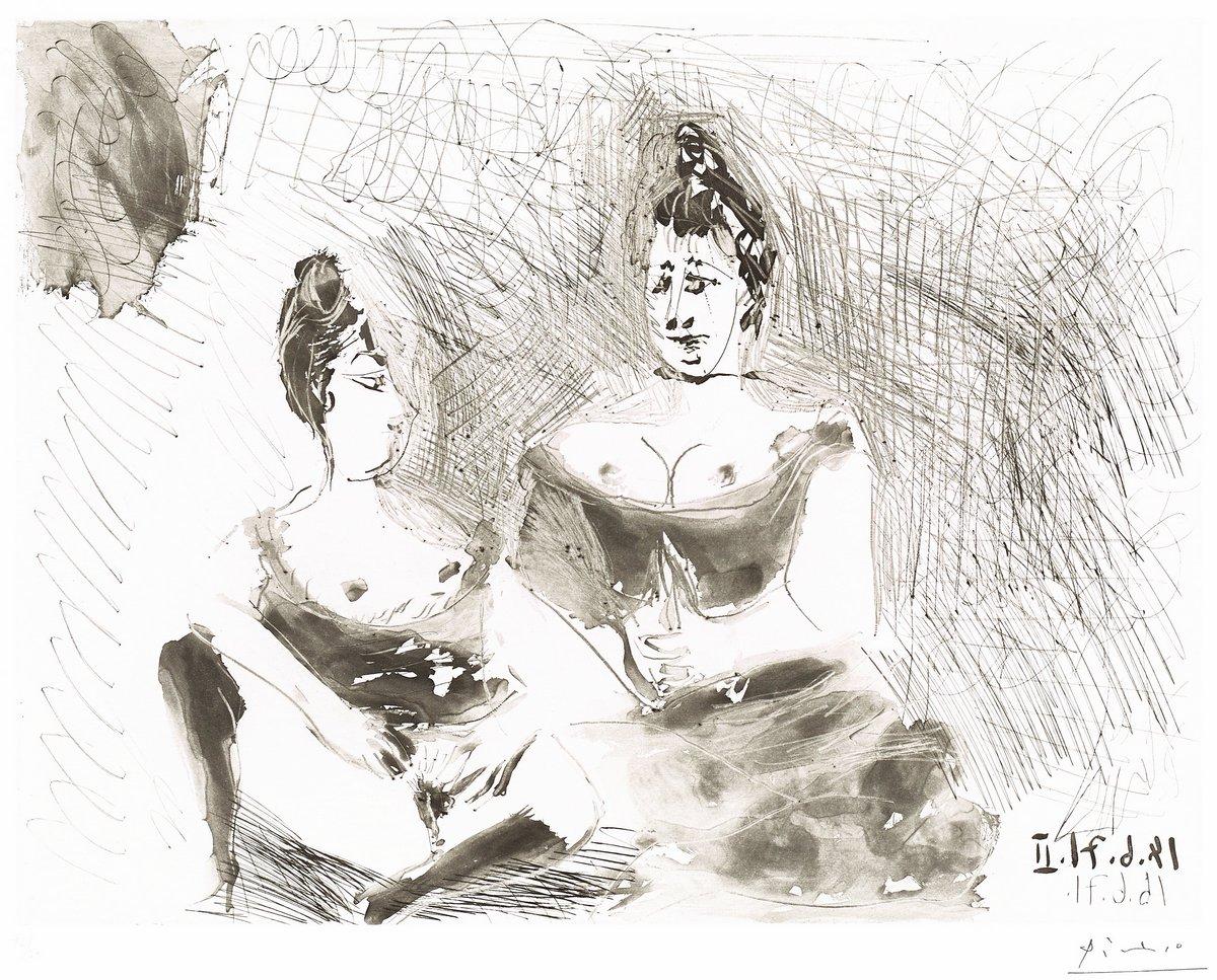 Пикассо Пабло, картина Две девушки, отдыхПикассо Пабло<br>Репродукция на холсте или бумаге. Любого нужного вам размера. В раме или без. Подвес в комплекте. Трехслойная надежная упаковка. Доставим в любую точку России. Вам осталось только повесить картину на стену!<br>