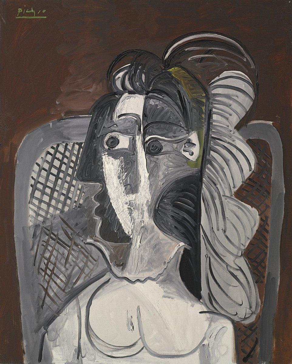 Пикассо Пабло, картина Женщина в креслеПикассо Пабло<br>Репродукция на холсте или бумаге. Любого нужного вам размера. В раме или без. Подвес в комплекте. Трехслойная надежная упаковка. Доставим в любую точку России. Вам осталось только повесить картину на стену!<br>