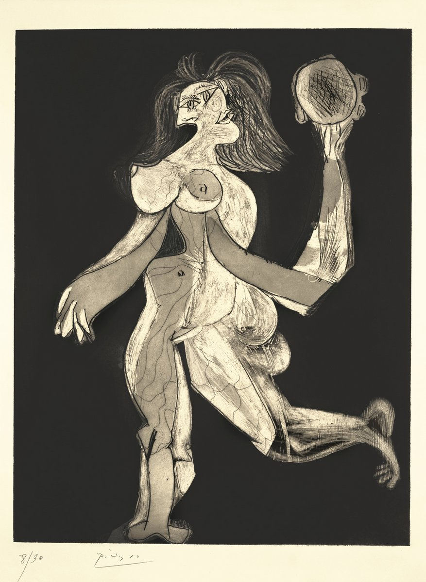 Пикассо Пабло, картина Женщина с барабаномПикассо Пабло<br>Репродукция на холсте или бумаге. Любого нужного вам размера. В раме или без. Подвес в комплекте. Трехслойная надежная упаковка. Доставим в любую точку России. Вам осталось только повесить картину на стену!<br>