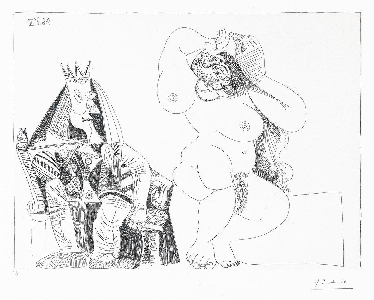 Пикассо Пабло, картина Король и проституткаПикассо Пабло<br>Репродукция на холсте или бумаге. Любого нужного вам размера. В раме или без. Подвес в комплекте. Трехслойная надежная упаковка. Доставим в любую точку России. Вам осталось только повесить картину на стену!<br>