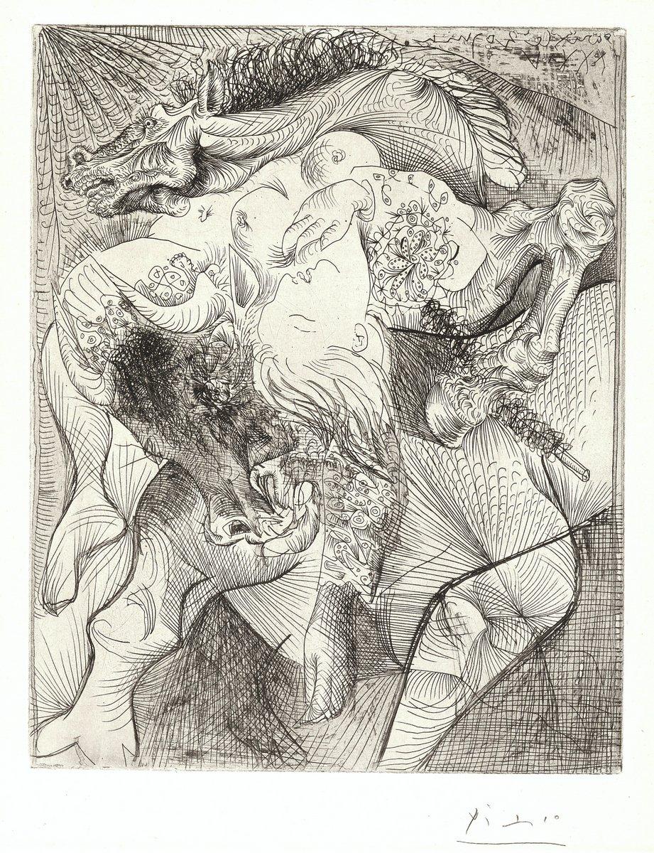 Пикассо Пабло, картина Мария-Тереза - женщина торероПикассо Пабло<br>Репродукция на холсте или бумаге. Любого нужного вам размера. В раме или без. Подвес в комплекте. Трехслойная надежная упаковка. Доставим в любую точку России. Вам осталось только повесить картину на стену!<br>