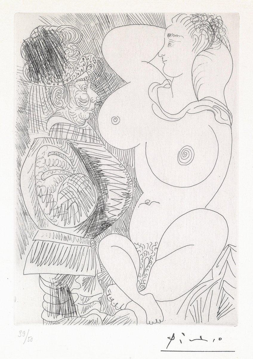 Пикассо Пабло, картина Мужчина и большая женщинаПикассо Пабло<br>Репродукция на холсте или бумаге. Любого нужного вам размера. В раме или без. Подвес в комплекте. Трехслойная надежная упаковка. Доставим в любую точку России. Вам осталось только повесить картину на стену!<br>