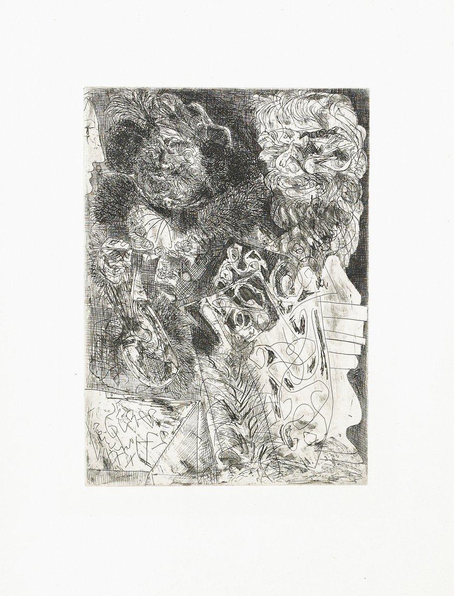Пикассо Пабло, картина РембрандтПикассо Пабло<br>Репродукция на холсте или бумаге. Любого нужного вам размера. В раме или без. Подвес в комплекте. Трехслойная надежная упаковка. Доставим в любую точку России. Вам осталось только повесить картину на стену!<br>