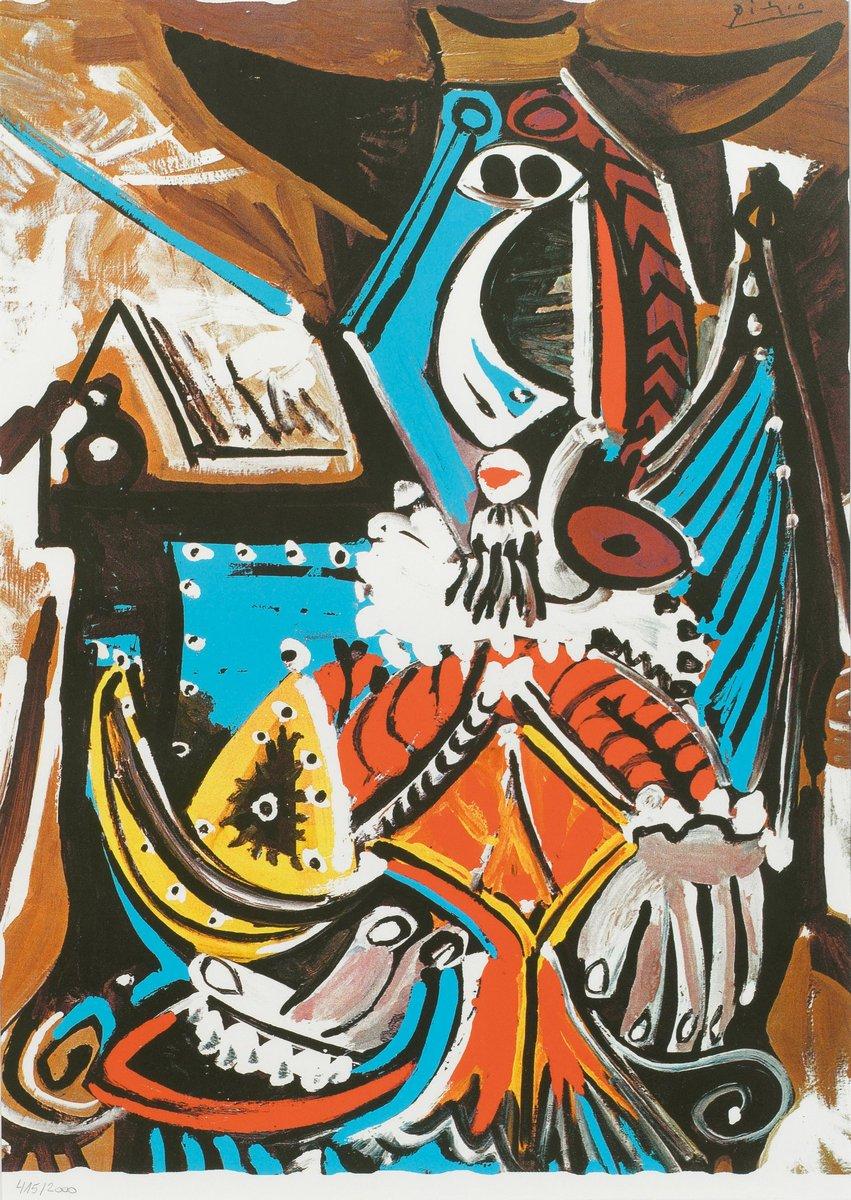 Пикассо Пабло, картина Человек с золотым шлемомПикассо Пабло<br>Репродукция на холсте или бумаге. Любого нужного вам размера. В раме или без. Подвес в комплекте. Трехслойная надежная упаковка. Доставим в любую точку России. Вам осталось только повесить картину на стену!<br>