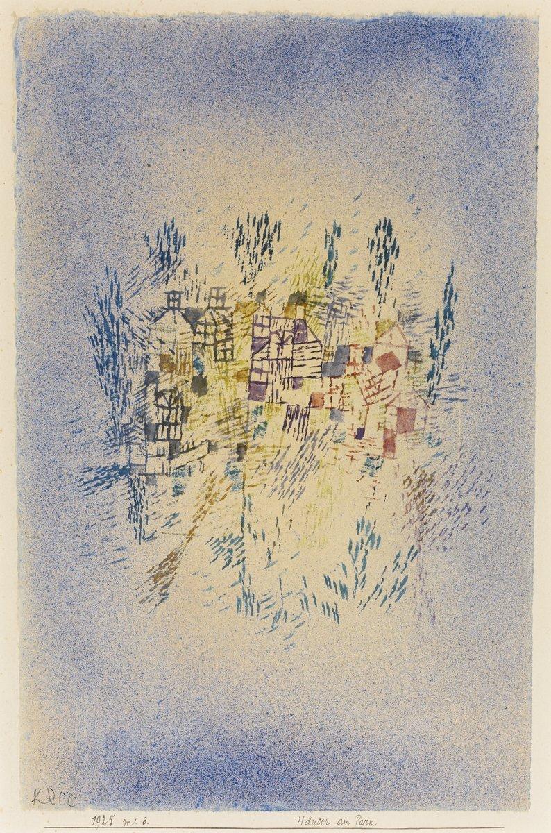 Клее Пауль, картина Дома в паркеКлее Пауль<br>Репродукция на холсте или бумаге. Любого нужного вам размера. В раме или без. Подвес в комплекте. Трехслойная надежная упаковка. Доставим в любую точку России. Вам осталось только повесить картину на стену!<br>