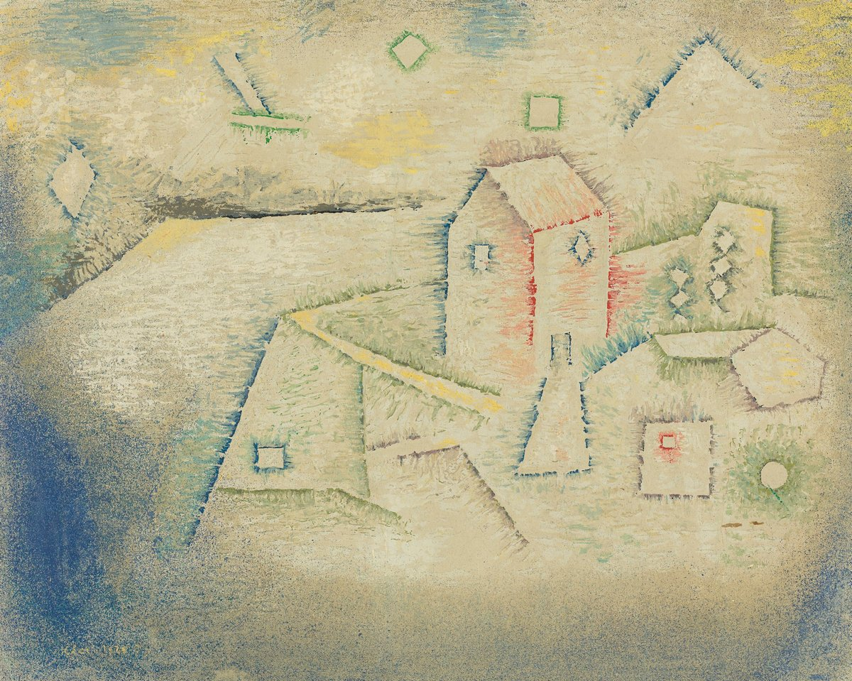 Клее Пауль, картина Сельский дом на севереКлее Пауль<br>Репродукция на холсте или бумаге. Любого нужного вам размера. В раме или без. Подвес в комплекте. Трехслойная надежная упаковка. Доставим в любую точку России. Вам осталось только повесить картину на стену!<br>