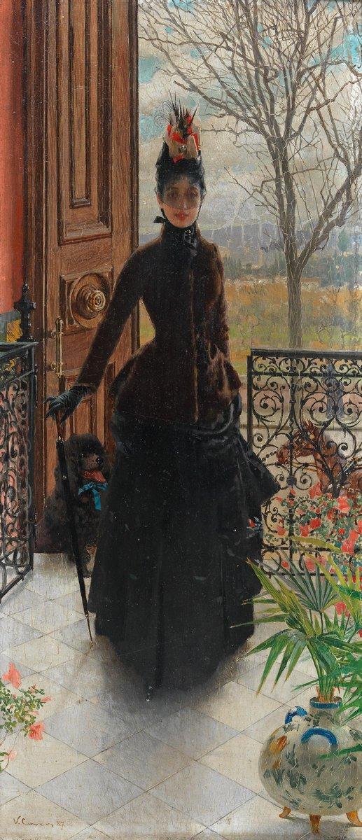 Романтика в живописи, картина Коркос Витторио «Элегантная дама»Романтика в живописи<br>Репродукция на холсте или бумаге. Любого нужного вам размера. В раме или без. Подвес в комплекте. Трехслойная надежная упаковка. Доставим в любую точку России. Вам осталось только повесить картину на стену!<br>