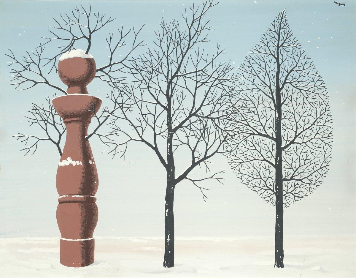 Магритт Рене, картина Новый годМагритт Рене<br>Репродукция на холсте или бумаге. Любого нужного вам размера. В раме или без. Подвес в комплекте. Трехслойная надежная упаковка. Доставим в любую точку России. Вам осталось только повесить картину на стену!<br>