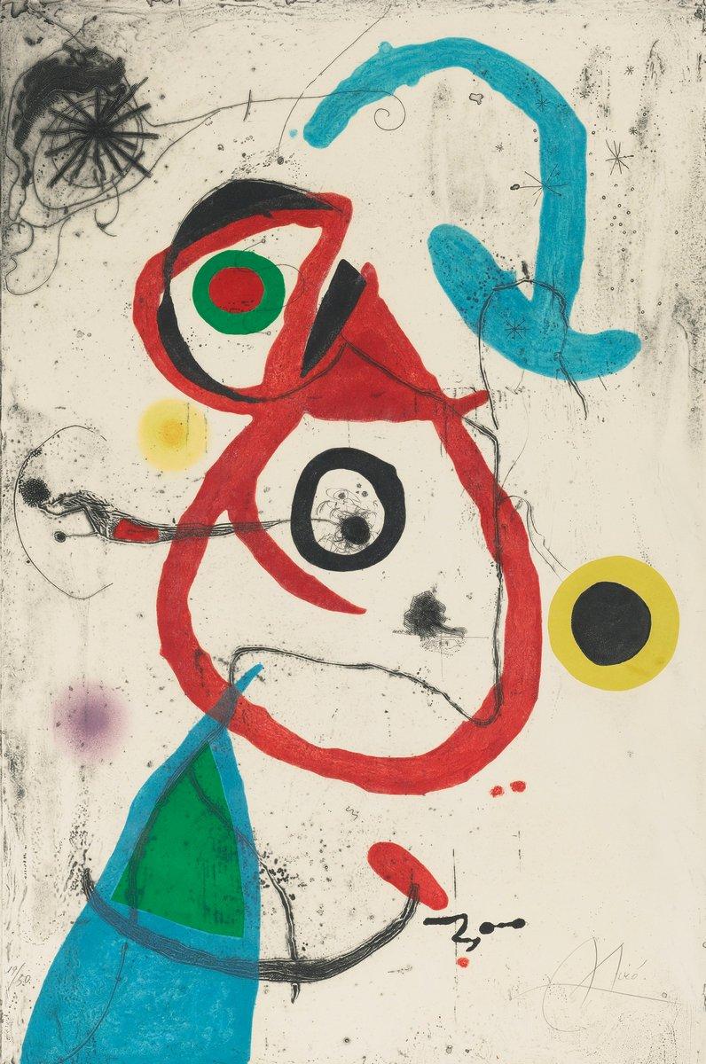 Миро Хоан, картина Барселона 1972-1973Миро Хоан<br>Репродукция на холсте или бумаге. Любого нужного вам размера. В раме или без. Подвес в комплекте. Трехслойная надежная упаковка. Доставим в любую точку России. Вам осталось только повесить картину на стену!<br>