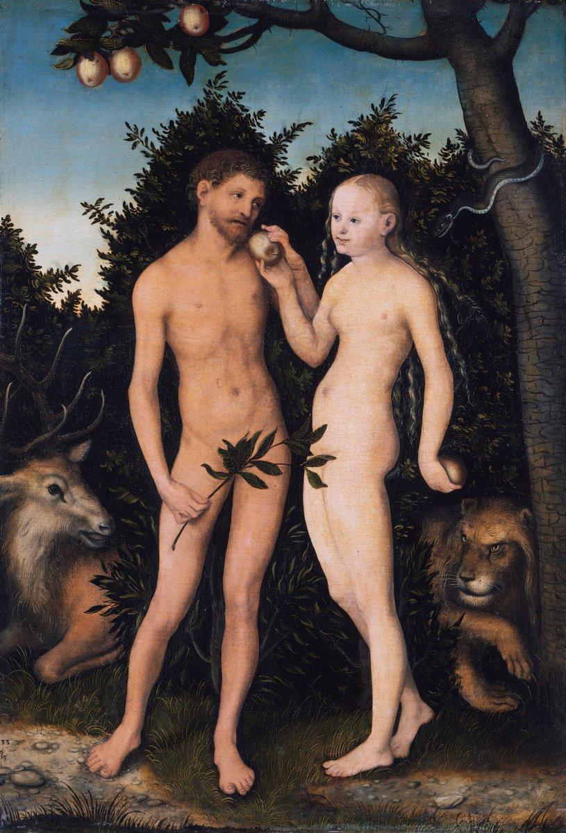 Художники, картина Адам и Ева в раю, 20x29 см, на бумагеКранах Лукас<br>Постер на холсте или бумаге. Любого нужного вам размера. В раме или без. Подвес в комплекте. Трехслойная надежная упаковка. Доставим в любую точку России. Вам осталось только повесить картину на стену!<br>