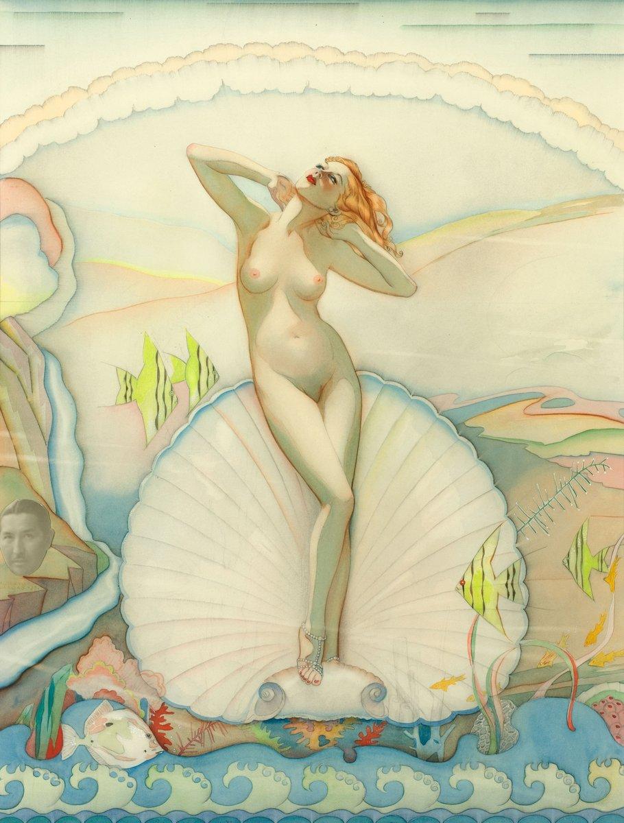 Искусство, картина Варгас Альберто «Венера в полукруге», 20x26 см, на бумагеПин-ап<br>Постер на холсте или бумаге. Любого нужного вам размера. В раме или без. Подвес в комплекте. Трехслойная надежная упаковка. Доставим в любую точку России. Вам осталось только повесить картину на стену!<br>