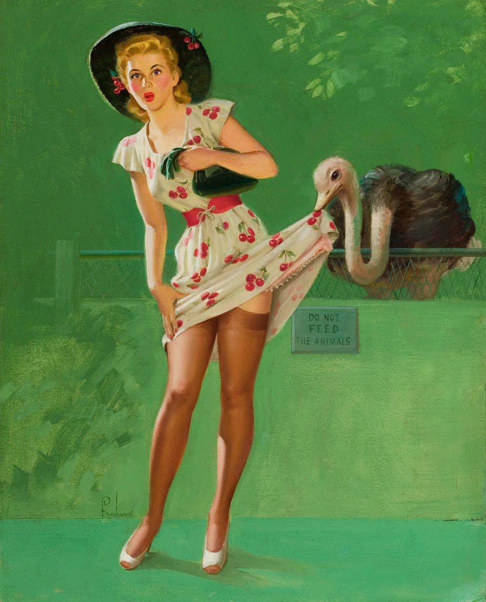 Искусство, картина Фрам Арт «Девушка в зоопарке», 20x25 см, на бумагеПин-ап<br>Постер на холсте или бумаге. Любого нужного вам размера. В раме или без. Подвес в комплекте. Трехслойная надежная упаковка. Доставим в любую точку России. Вам осталось только повесить картину на стену!<br>