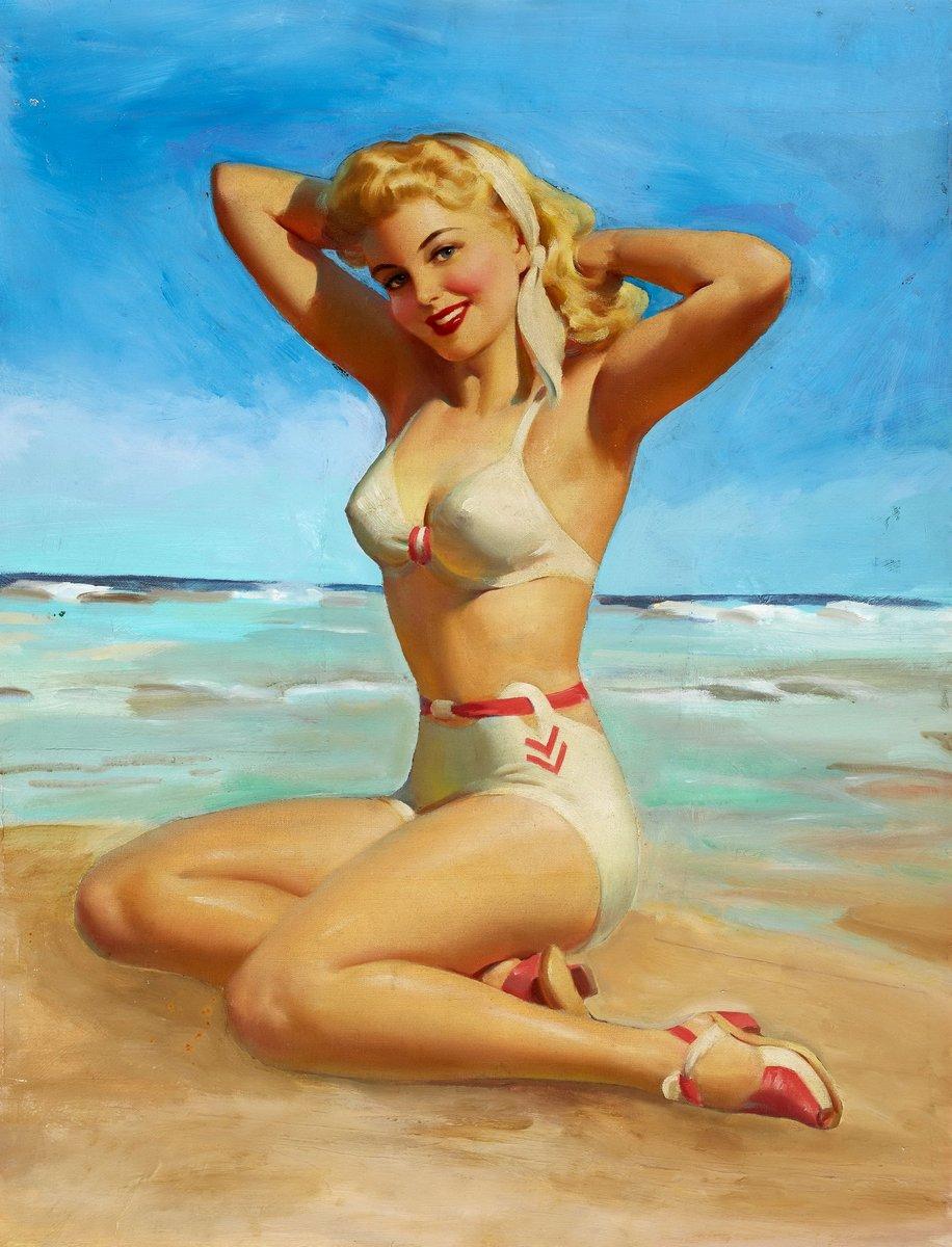 Искусство, картина Фрам Арт «Девушка на пляже», 20x26 см, на бумагеПин-ап<br>Постер на холсте или бумаге. Любого нужного вам размера. В раме или без. Подвес в комплекте. Трехслойная надежная упаковка. Доставим в любую точку России. Вам осталось только повесить картину на стену!<br>