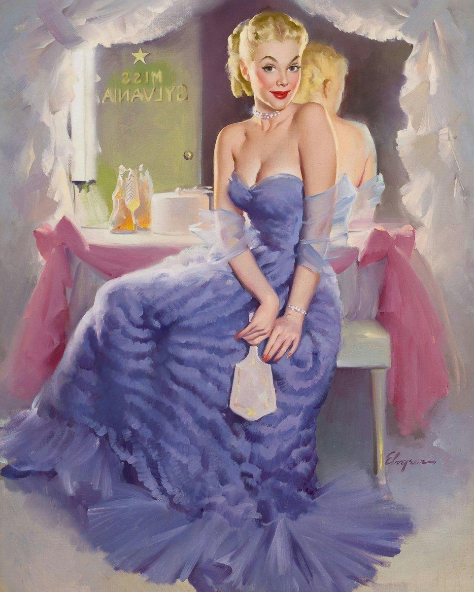 Искусство, картина Элвгрен Джил «Девушка в синем», 20x25 см, на бумагеПин-ап<br>Постер на холсте или бумаге. Любого нужного вам размера. В раме или без. Подвес в комплекте. Трехслойная надежная упаковка. Доставим в любую точку России. Вам осталось только повесить картину на стену!<br>